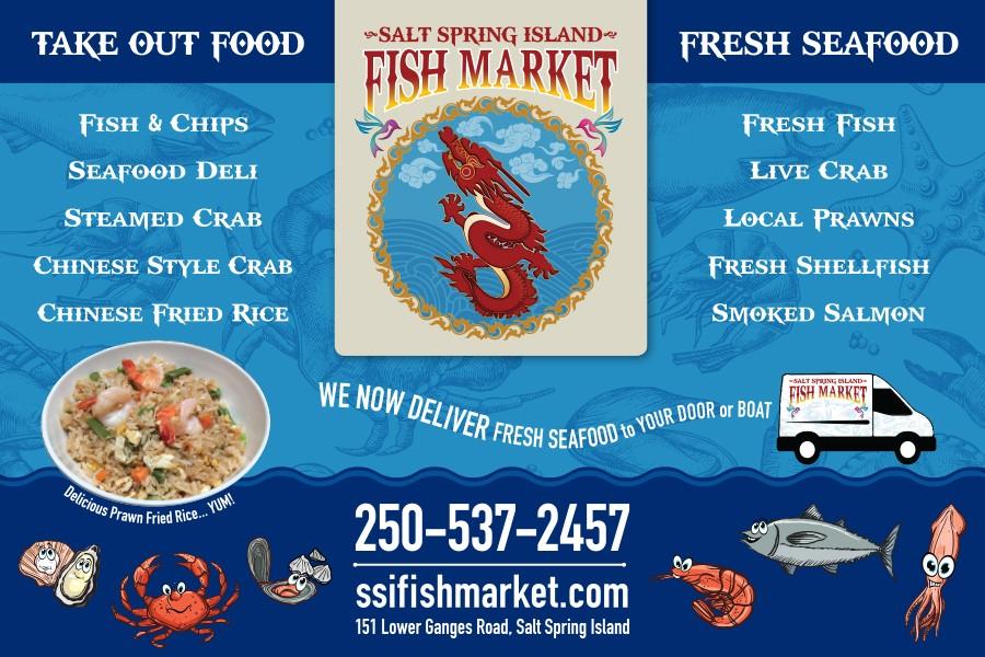 Salish Sea Real Estate Salt Spring Island Fish Market