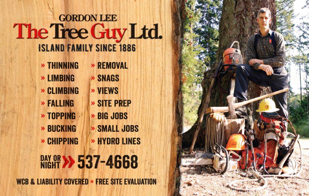 Salish Sea Real Estate Gordon Lee - The Tree Guy