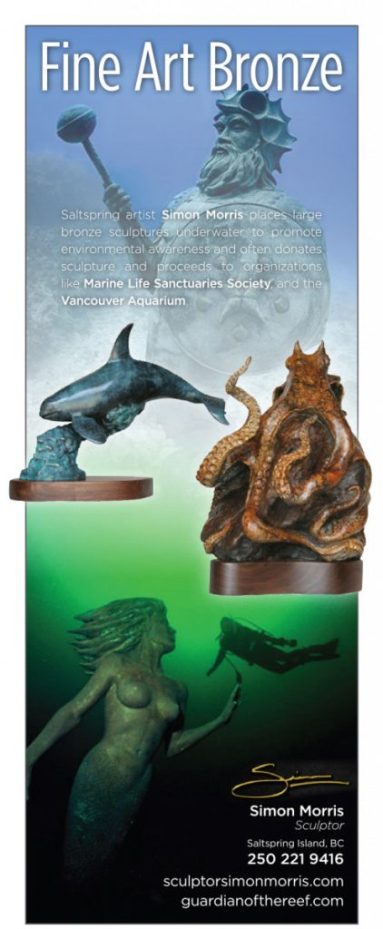 Salish Sea Real Estate Simon Morris - Sculptor