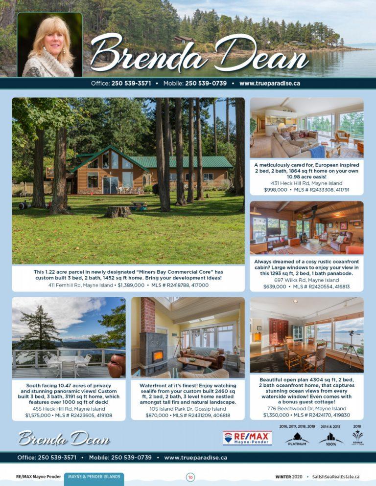 Salish Sea Real Estate Brenda Dean