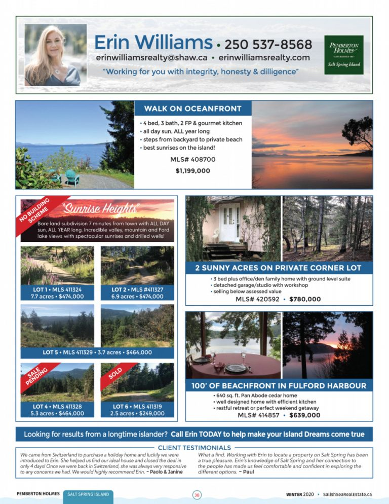 Salish Sea Real Estate Erin Williams