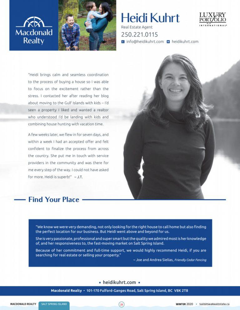 Salish Sea Real Estate Heidi Khurt