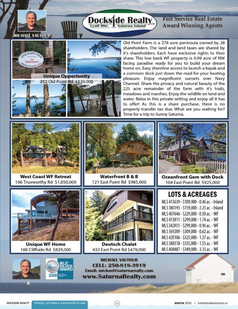 Salish Sea Real Estate Michael Vautour