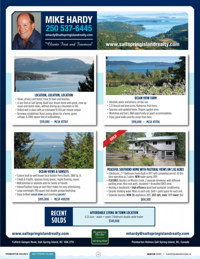 Salish Sea Real Estate Mike Hardy