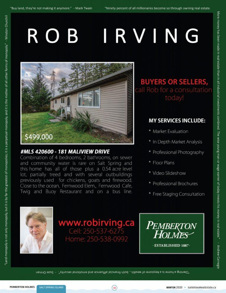 Salish Sea Real Estate Rob Irving