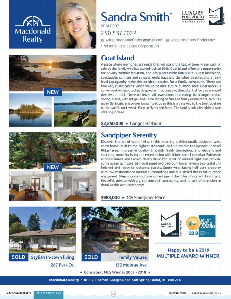 Salish Sea Real Estate Sandra Smith