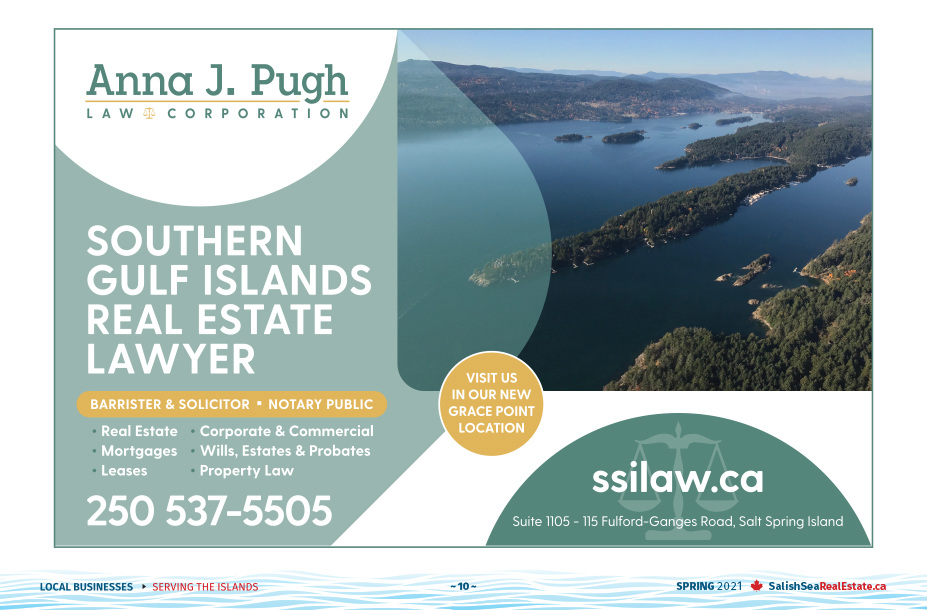 Salish Sea Real Estate Anna J. Pugh Law Corporation