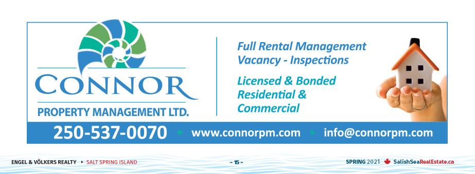 Salish Sea Real Estate Connor Property Management
