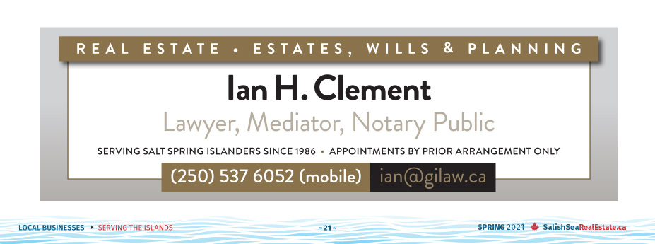 Salish Sea Real Estate Ian Clement