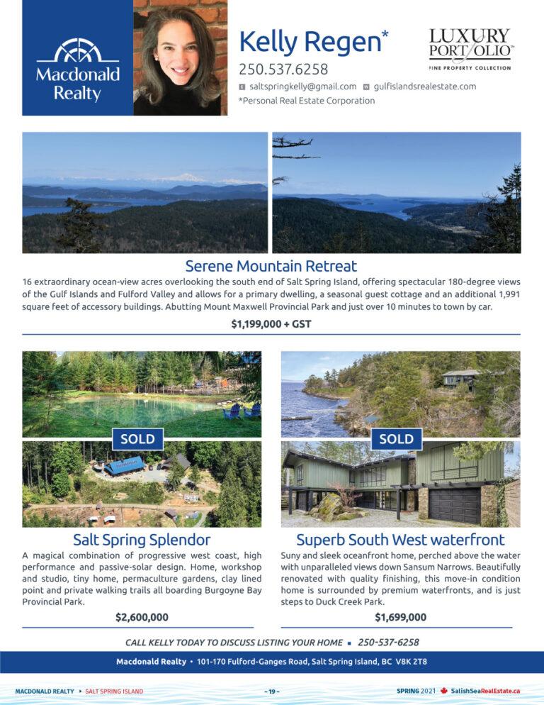 Salish Sea Real Estate Kelly Regen