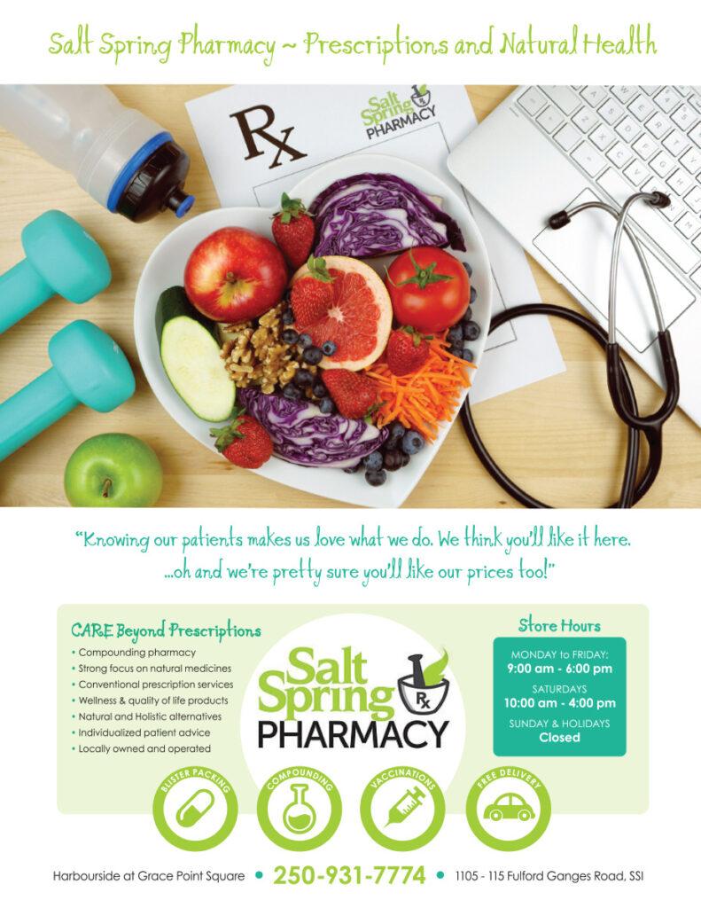 Salish Sea Real Estate Salt Spring Pharmacy