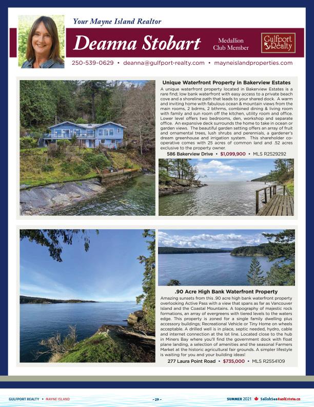 Salish Sea Real Estate Deanna Stobart