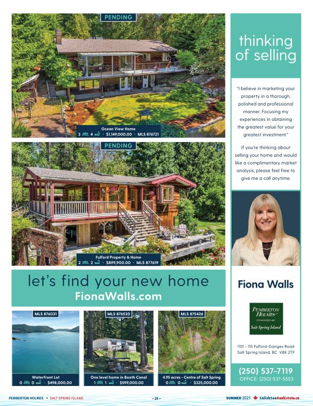 Salish Sea Real Estate Fiona Walls