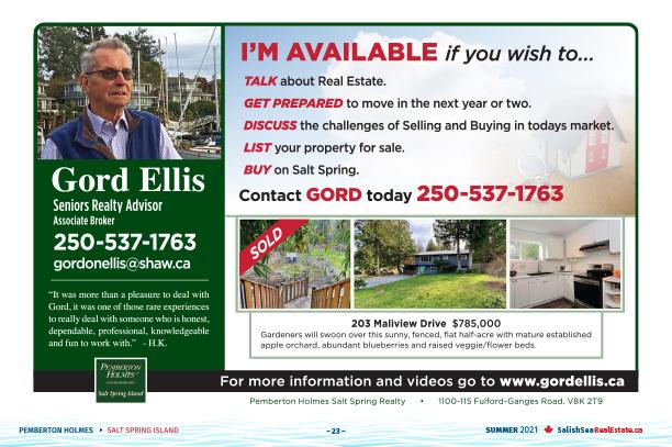 Salish Sea Real Estate Gord Ellis