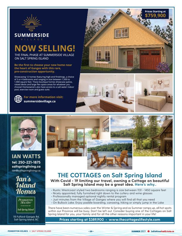 Salish Sea Real Estate Ian Watts