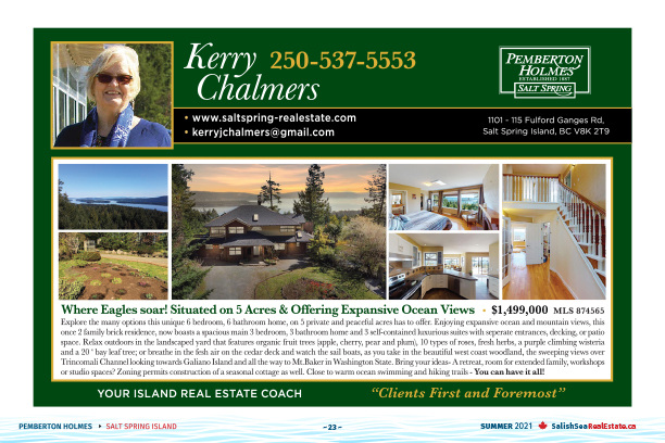 Salish Sea Real Estate Kerry Chalmers
