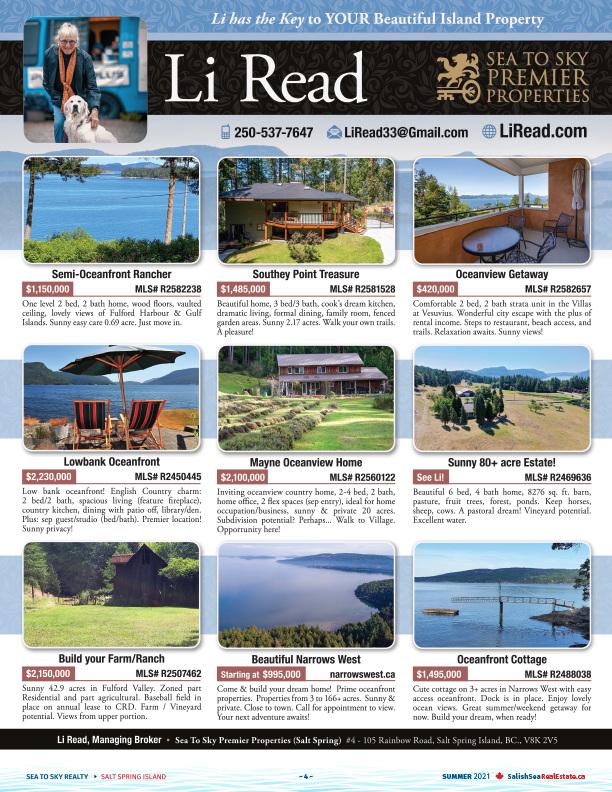 Salish Sea Real Estate Li Read