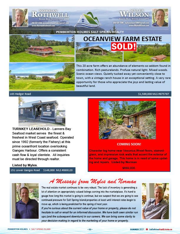 Salish Sea Real Estate Myles Wilson