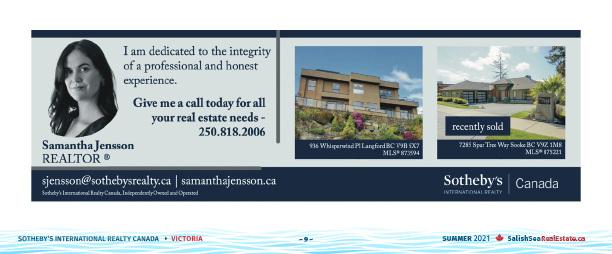 Salish Sea Real Estate Samantha Jensson